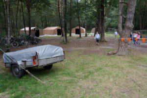 een tentenkamp
